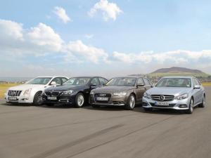 Audi-A6-BMW-5-series-Cadillac-CTS-Mercedes-E-Class