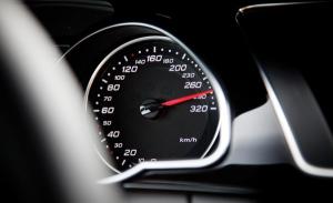 Audi-speedometer