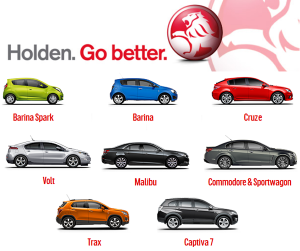 Holden-line-up