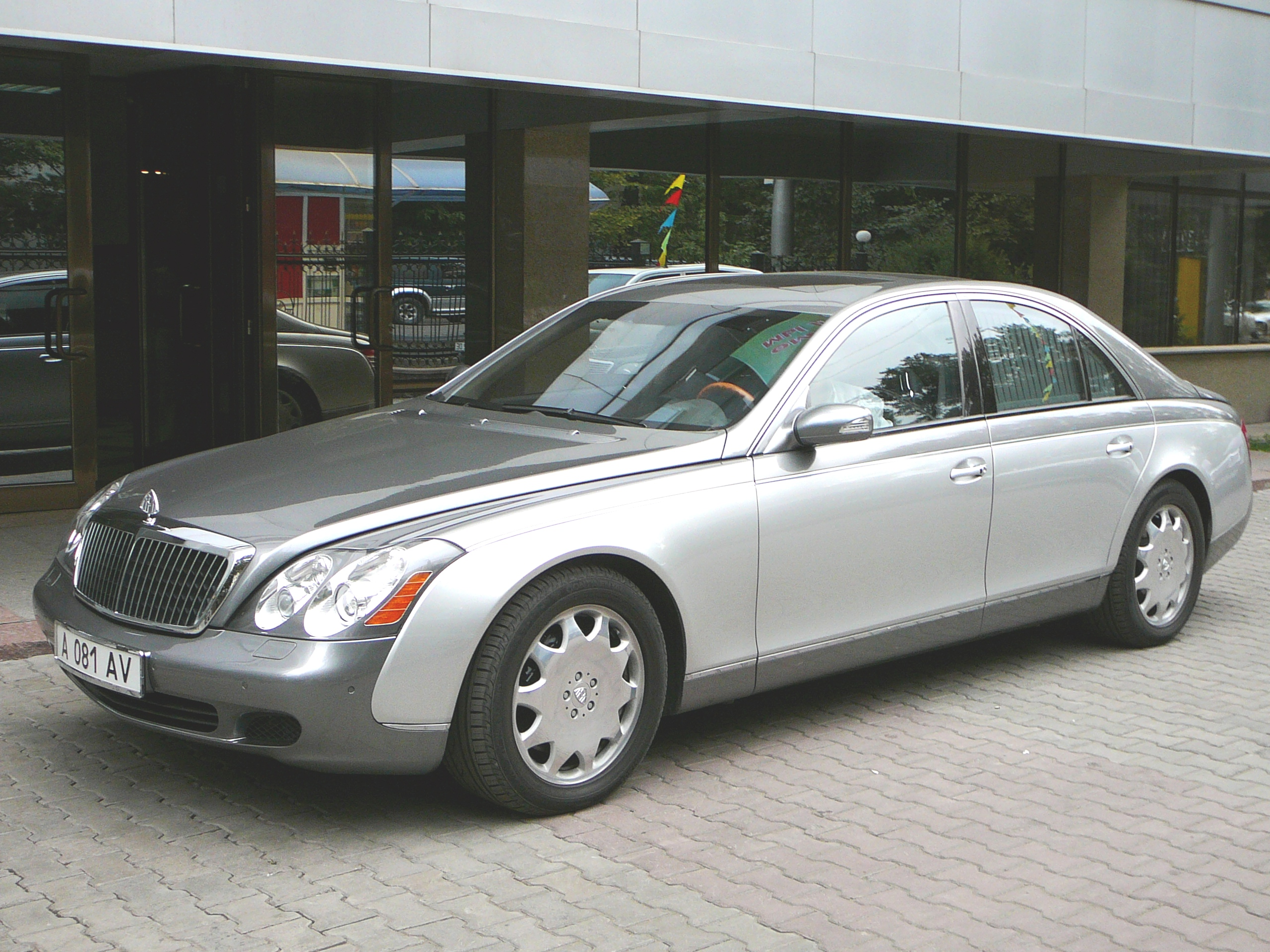Maybach Europe Sales Figures
