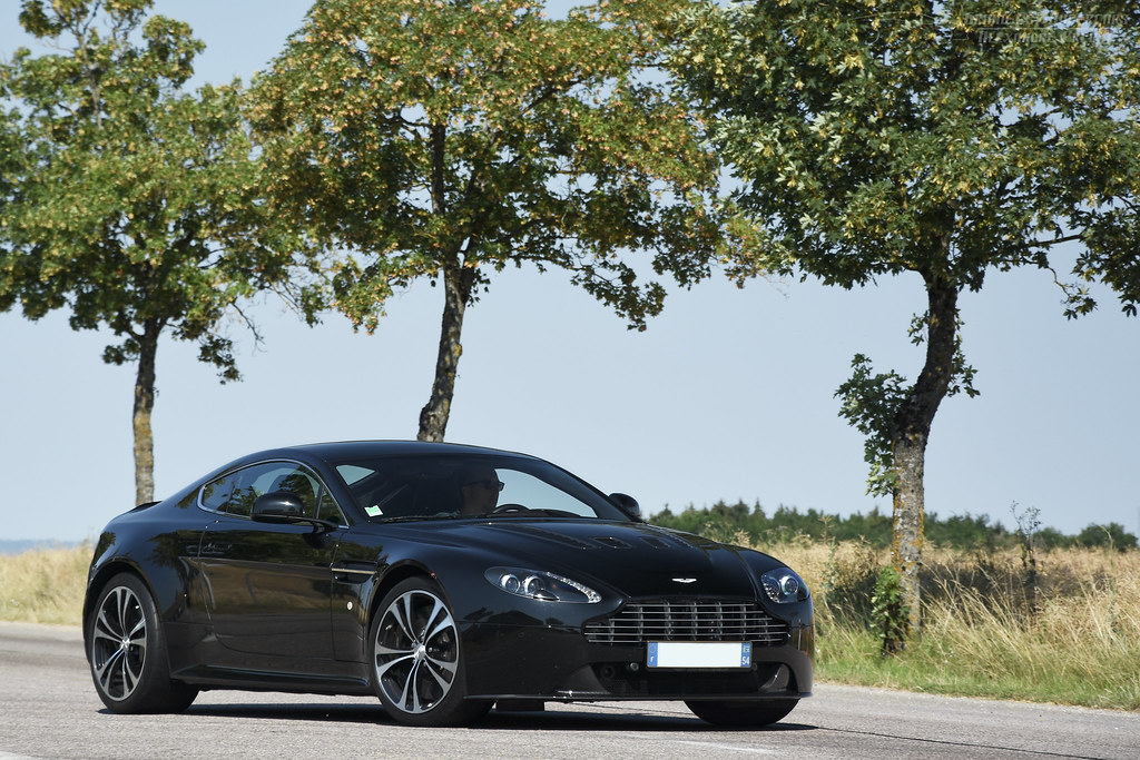 Aston Martin V8 V12 Vantage European Sales Figures