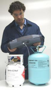Airconditioning-refrigerant-R1234yf-r134a