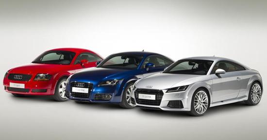 Audi_TT-generations-auto-sales-statistics-Europe