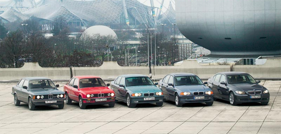 BMW_3_series-generations-auto-sales-statistics-Europe