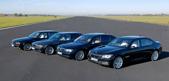 BMW_7_series-generations-auto-sales-statistics-Europe