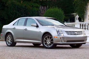 Cadillac-STS-auto-sales-statistics-Europe