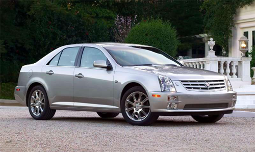 Cadillac-STS-auto-sales-statistics-Europe