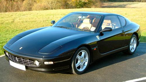 Ferrari 456m European Sales Figures