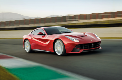 Ferrari F12 Berlinetta European Sales Figures