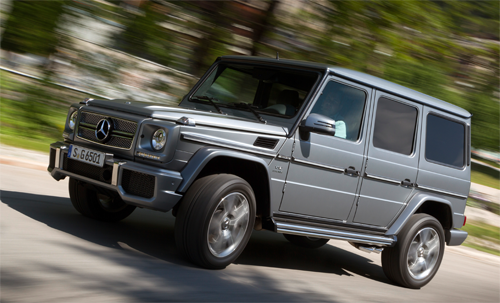 Mercedes-Benz-G-Class-auto-sales-statistics-Europe