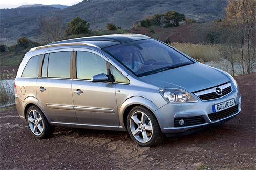 Opel-Vauxhall-Zafira-second-generation-auto-sales-statistics-Europe