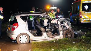 Rescue-workers-automobile-crash-Mercedes-Benz