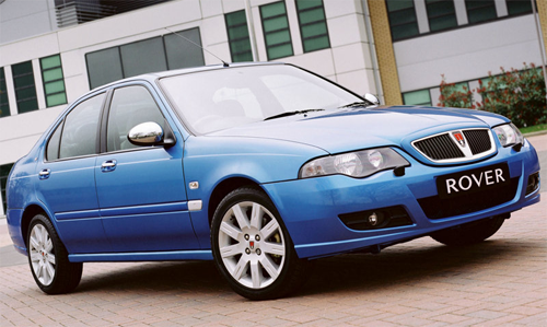 Rover-45-auto-sales-statistics-Europe