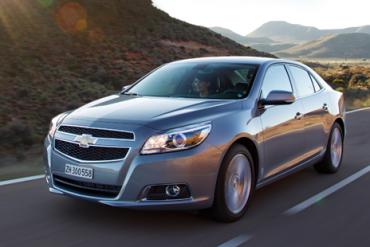Chevrolet-Malibu-auto-sales-statistics-Europe