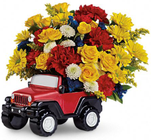 Jeep-Wrangler-flower-vase-mothers-day-gift-idea