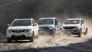 Nissan-Qashqai-VW-Tiguan-Kia-Sportage-midsized-SUV-sales-europe