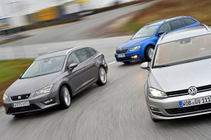 European-car-sales-statistics-compact-segment-2014-Volkswagen_Golf-Skoda_Octavia-Seat_Leon