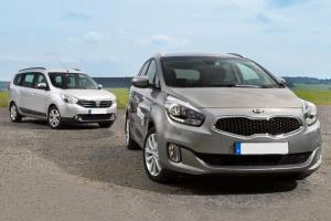 European-car-sales-statistics-midsized-MPV-segment-2014-Kia_Carens-Dacia_Lodgy