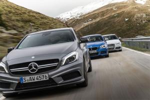 European-car-sales-statistics-premium-compact-segment-2014-Mercedes_Benz_A_Class-BMW_1_series-Audi_A3