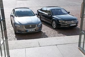 European-car-sales-statistics-premium-limousine-segment-2014-Jaguar_XJ-Volkswagen_Phaeton