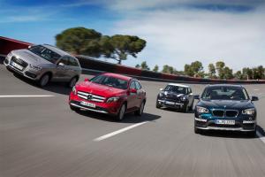 European-car-sales-statistics-premium-small-crossover-segment-2014-Audi_Q3-BMW_X1-Mini_Countryman-Mercedes_Benz_GLA