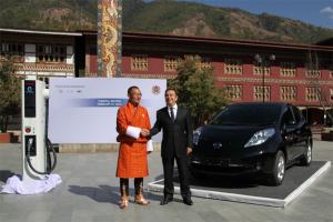 Nissan_Leaf-EV-sales_Bhutan