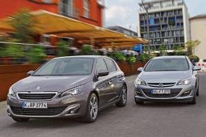auto-sales-statistics-Europe-october-2014-Peugeot_308-Opel_Astra