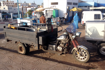 Cargo_tricycle-Morocco-Docker