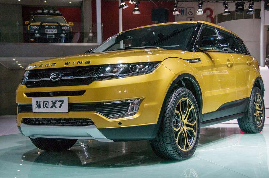 Landwind China Sales Figures