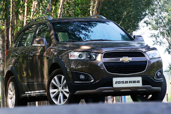Chevrolet Captiva China Auto Sales Figures