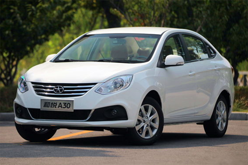 Auto-sales-statistics-China-JAC_Heyue_A30-sedan