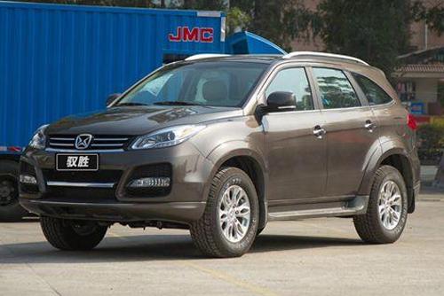 Auto-sales-statistics-China-JMC_Jiangling_Yusheng-SUV