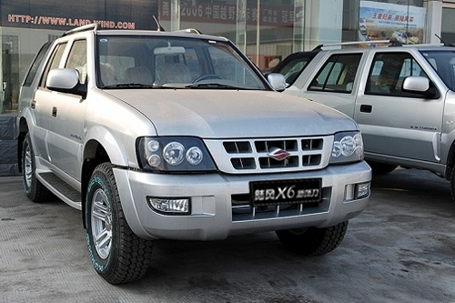 Auto-sales-statistics-China-Landwind_X6-SUV