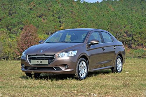 Auto-sales-statistics-China-Peugeot_301-sedan