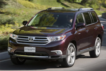Auto-sales-statistics-China-Toyota_Highlander-SUV
