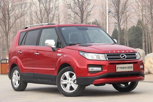 Auto-sales-statistics-China-ZX_Auto-GX3-SUV