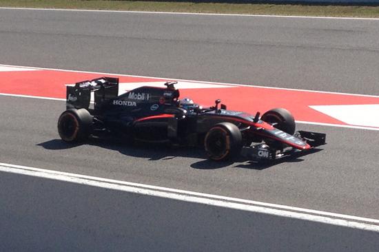 Barcelona_Formula_One-McLaren-pit_lane_exit