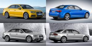Audi_A4-B8-vs-Audi_A4-B9-front-rear