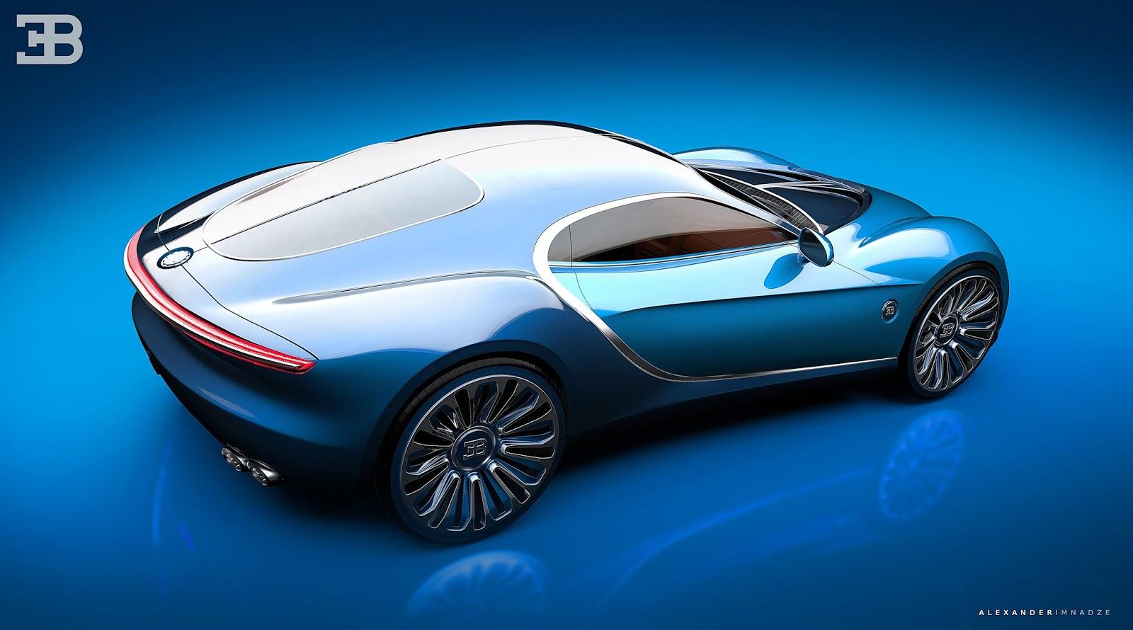 Bugatti Type-6 GT Vision 2
