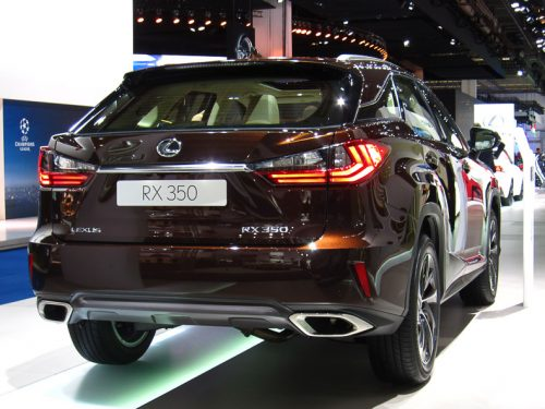 Lexus RX rear