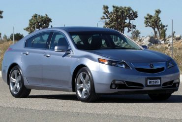 Acura TL Sales Data