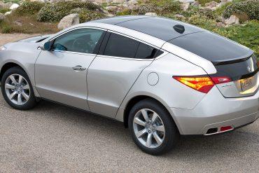 Acura ZDX Sales Data