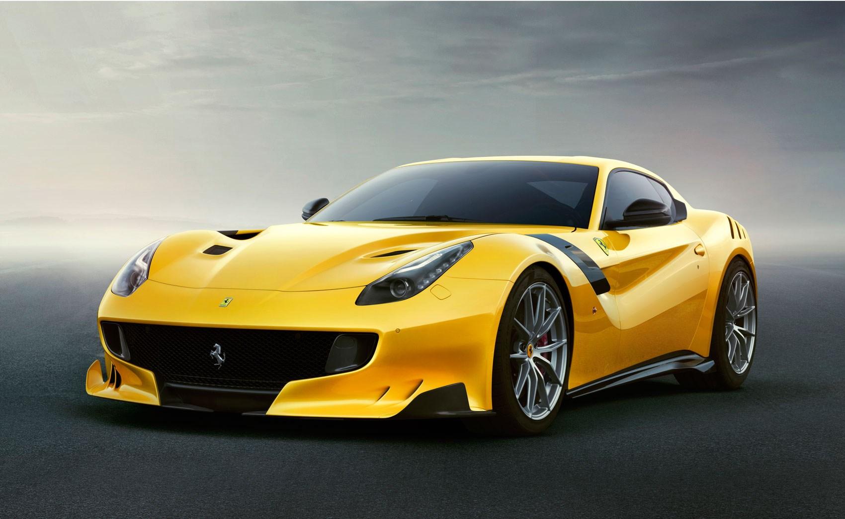 Ferrari Shows Off The New F12 Tdf Carsalesbase Com