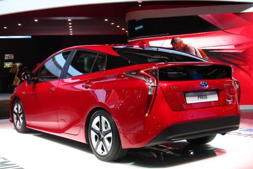 Toyota Prius rear