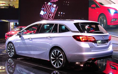 Opel Astra Sports Tourer rear