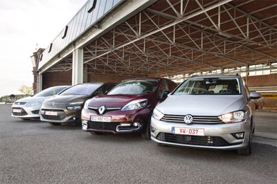 Citroen_C4_Picasso-Renault_Scenic-VW_Golf_Sportsvan-Ford_C_Max--european_car_sales-2015-midsized_MPV-segment