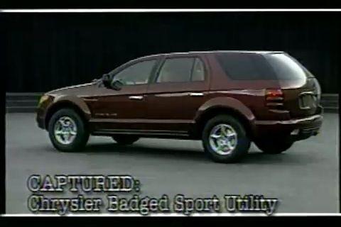 Chrysler SUV concept