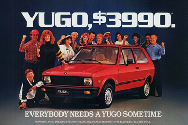 Yugo-US-car-sales-1985-models