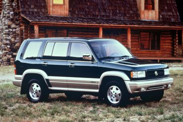 1997 Acura SLX.