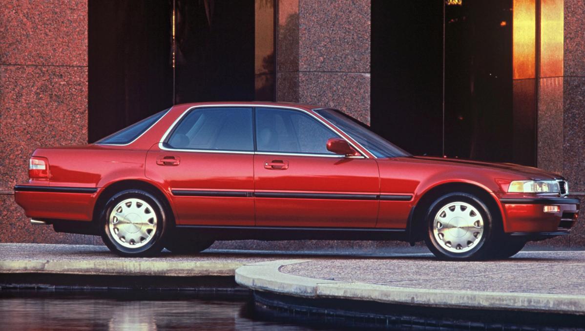 Acura Vigor U.S Sales Figures